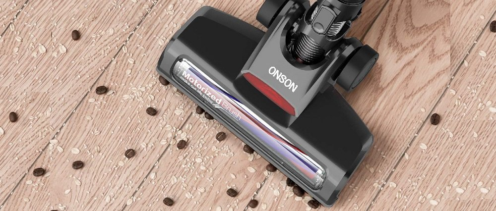 ONSON Stick Vacuum Cleaner, Powerful Cleaning Lightweight Handheld
