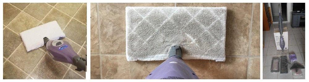 Shark Steam Pocket Mop Hard Floor Cleaner with Swivel Steering