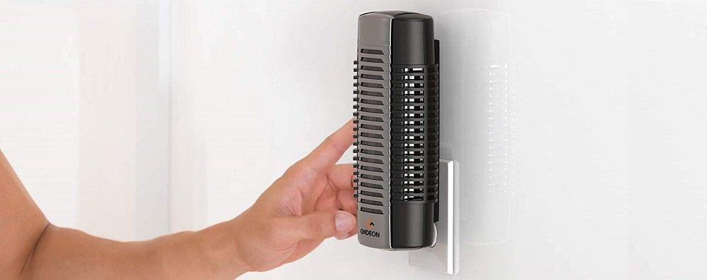Gideon Mini Plug-in Air Ionizer Air Purifier
