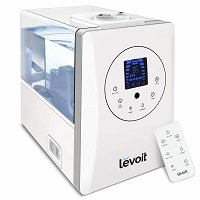 LEVOIT Humidifiers for Large Room Bedroom (6L), Warm and Cool Mist Ultrasonic Air Humidifier