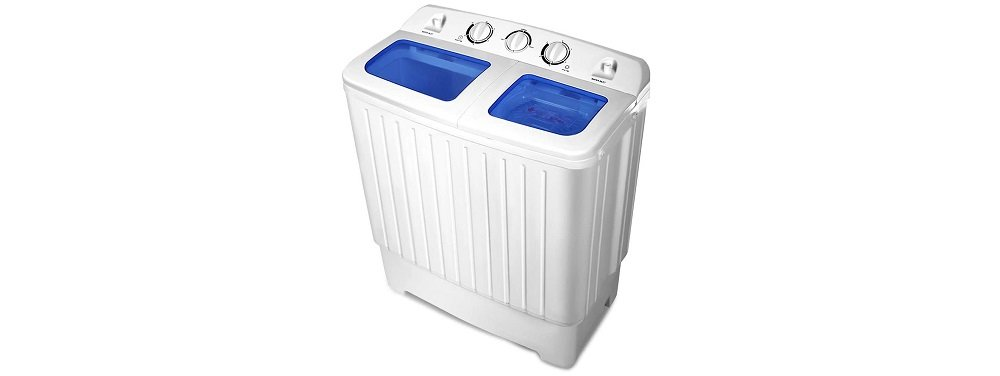 Giantex Portable Mini Compact Twin Tub Washing Machine Review