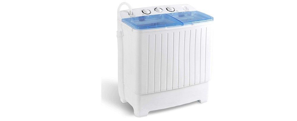 SUPER DEAL 2IN1 Mini Compact Twin Tub Washing Machine Review