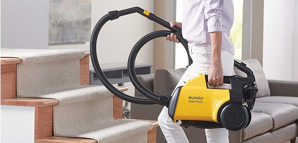 Eureka Mighty Mite 3670G Corded Canister Vacuum