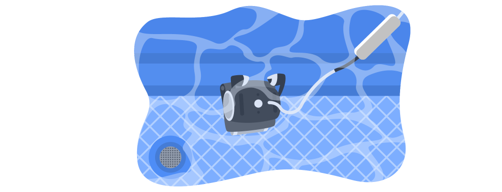 Pool Cleaning Illustration