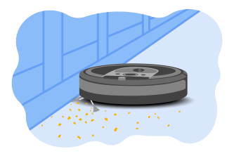 Robot Vacuum Illustration