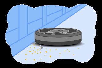 Robot Vacuum Illustration