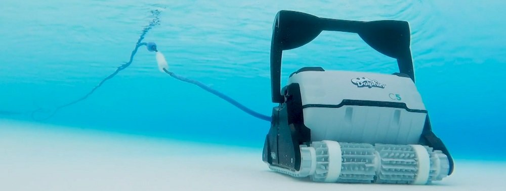 Track Robotic Pool Cleaner