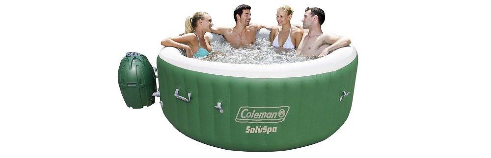 Coleman SaluSpa Inflatable Hot Tub Spa Review