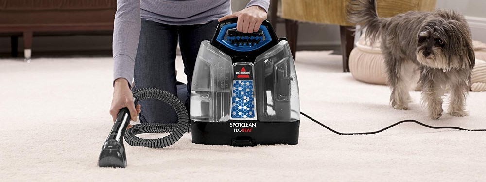 Portable Carpet Cleaner by Bissell