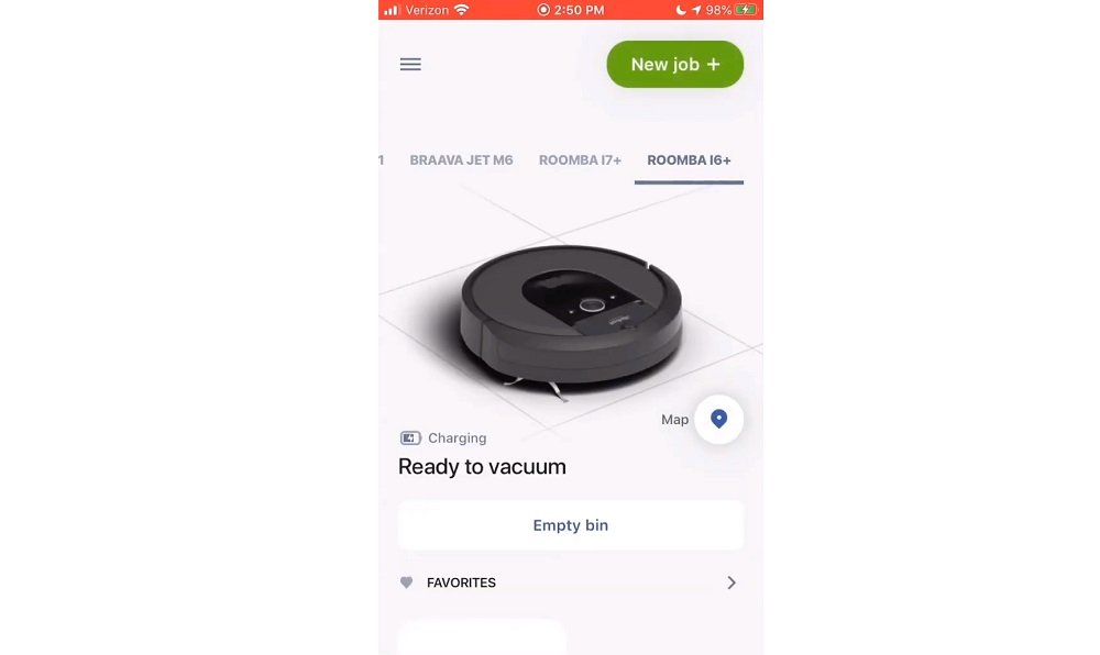 iRobot Mobile App