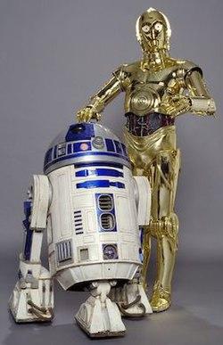 R2-D2 & C-3PO, the most famous Droids