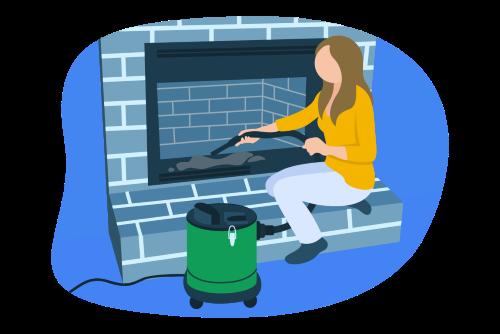 Ash Vacuum Illustration