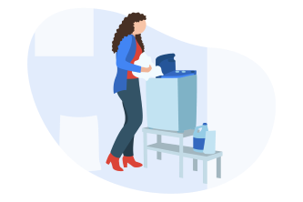 Portable Washer Illustration