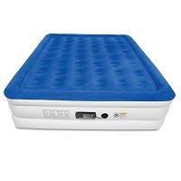 SoundAsleep Dream Series Air Mattress with ComfortCoil Technology & Internal High Capacity Pump - King Size