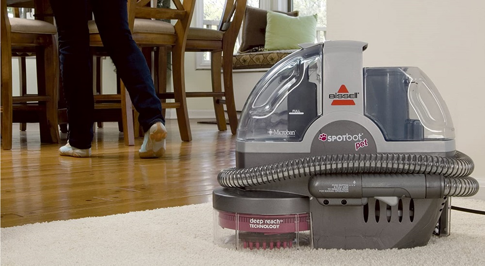 Bissell 33N8A SpotBot Portable Carpet and Upholstery Cleaner Review