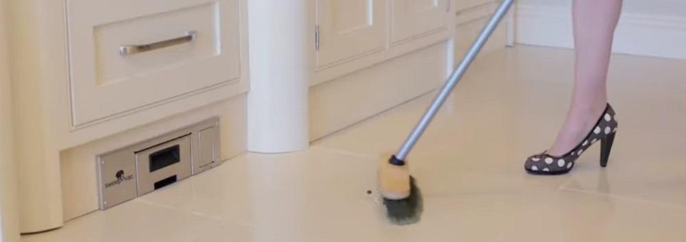 Sweepovac Built in Kitchen Vacuum