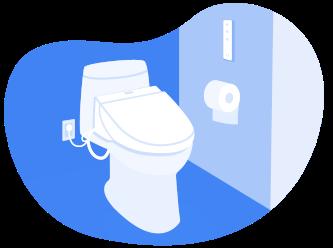 Toilet Seat Illustration