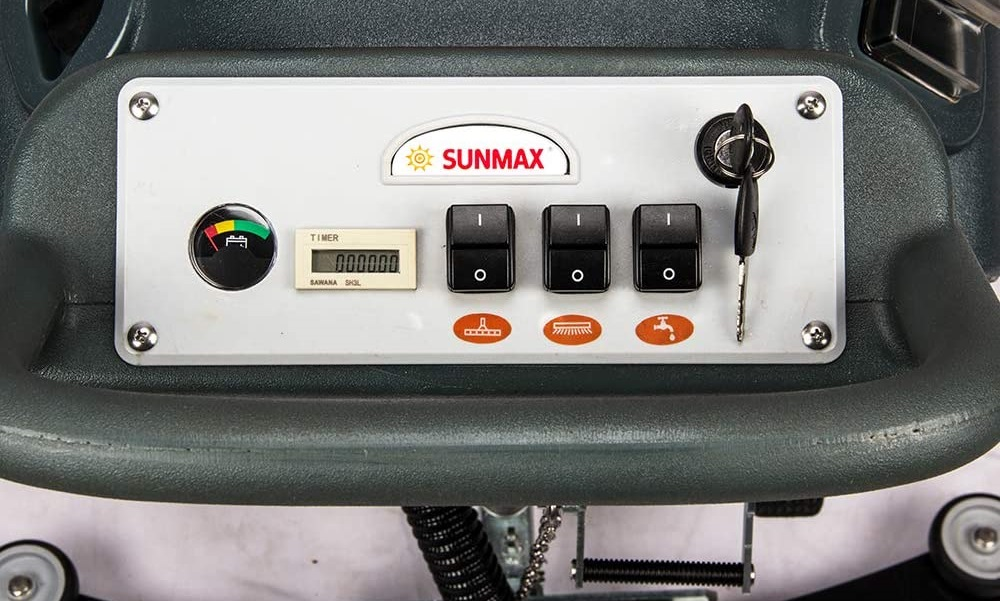 SUNMAX Electric Automatic Scrubber Power Floor Cleaning Machine