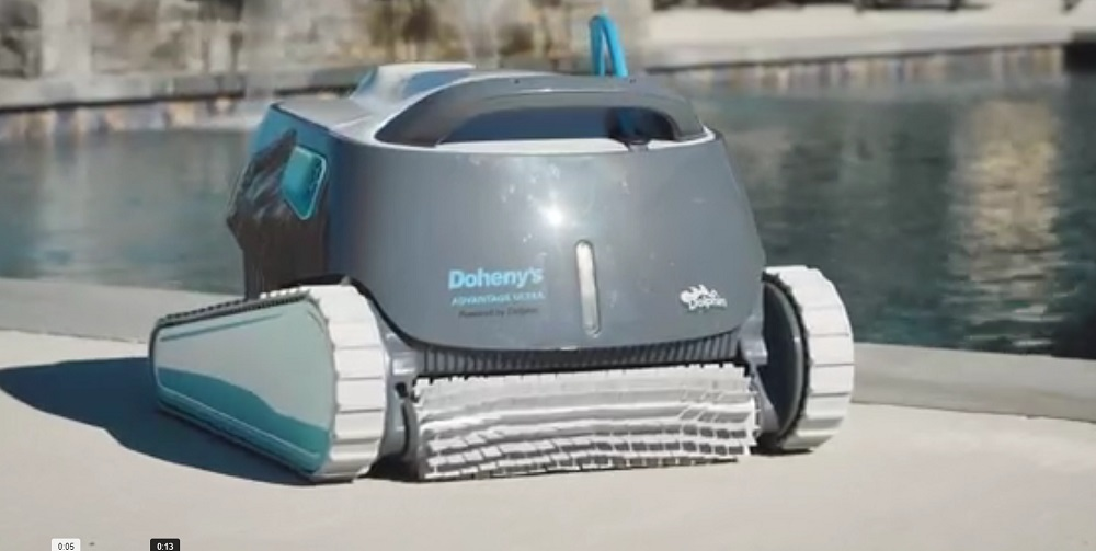 Dolphin Advantage Ultra Robotic Pool [Vacuum] Cleaner Review