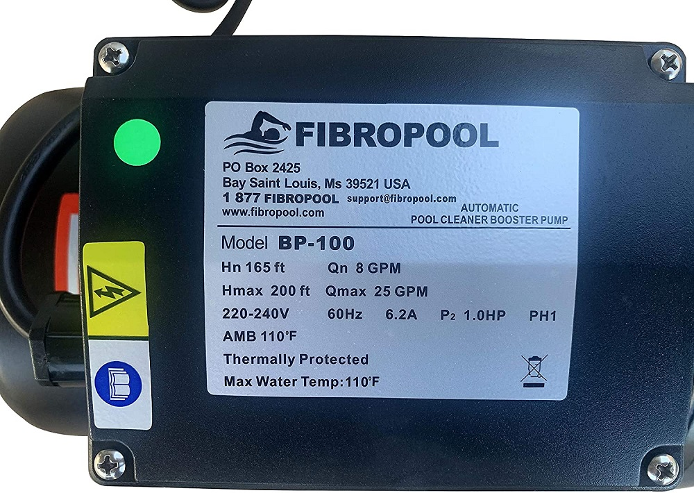 Pool Cleaner Booster Pump