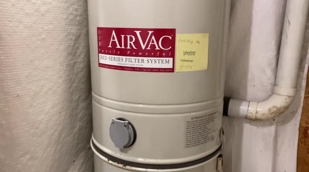 AirVac Central Vacuum