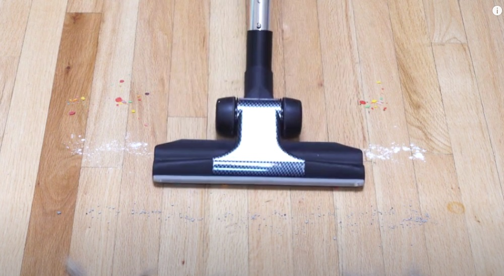 Central Vacuum Wand and Brush