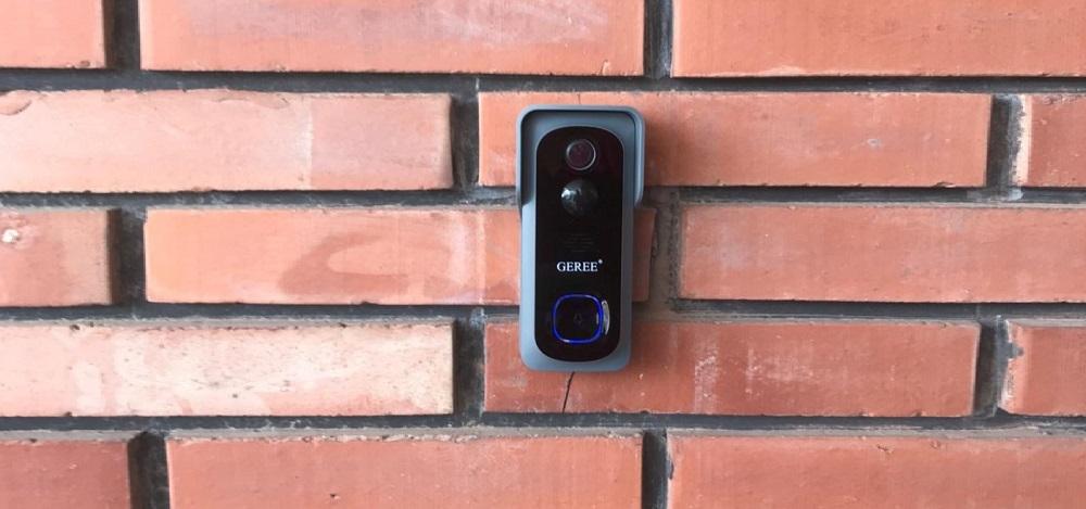 GEREE Video Doorbell Camera Wireless WiFi Smart Doorbell