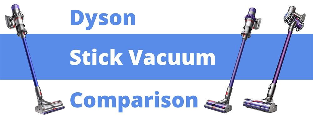 Dyson Stick Vacuum Comparison