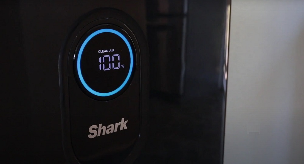 Shark HE601 Air Purifier 6 True HEPA, Large Areas, Advanced Lock, Clean Sense IQ, Ultra Quiet, captures 99.97% of dust, Dander, allergens, viruses, Smoke, Household Odors to 0.3 microns, 6 Fan, White