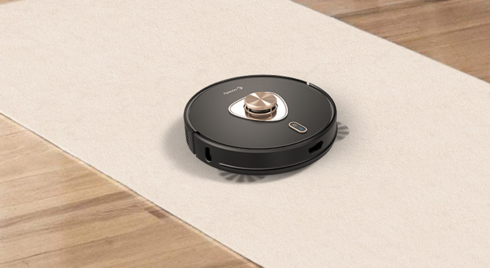 Coredy L900X Robot Vacuum Cleaner with Self Emptying Base, Laser Navigation Robotic Vacuums and Mop Multi-Floor Mapping, 2700Pa Suction with No-Go Zones, Wi-Fi Connected, Good for Pet Hairs